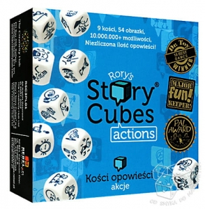 Story Cubes. Actions