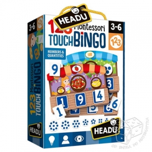 Montessori - Touch Bingo 123