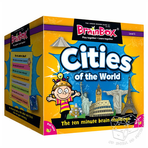 Cities of the World. Miasta świata - wersja angielska - BrainBox